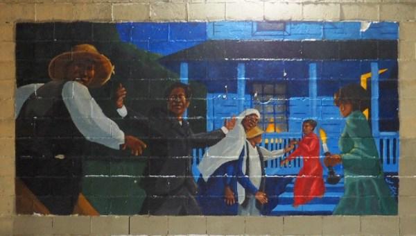 Underground Railroad Mural
