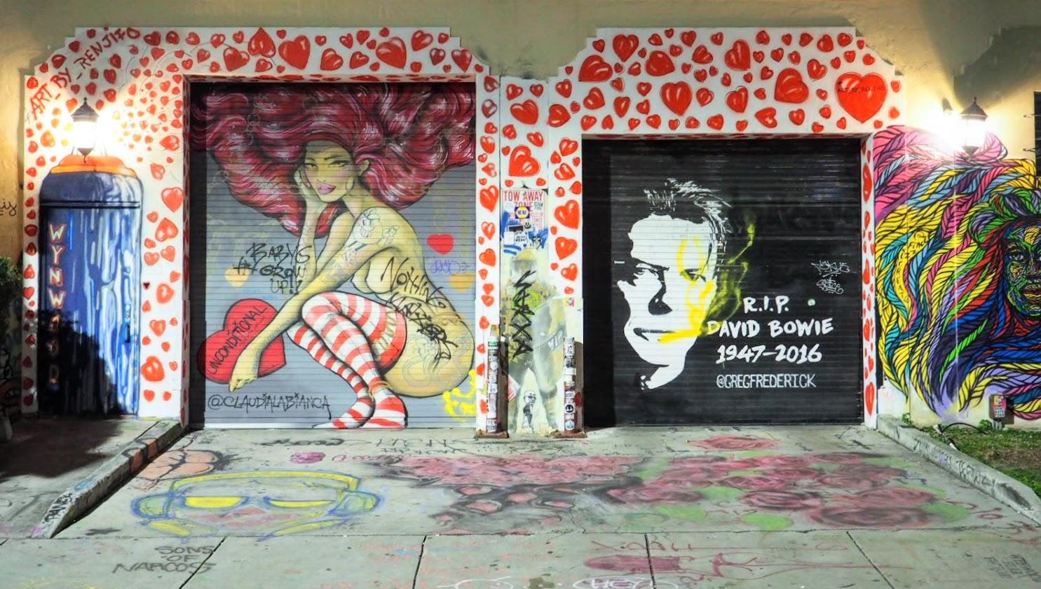 David Bowie Mural