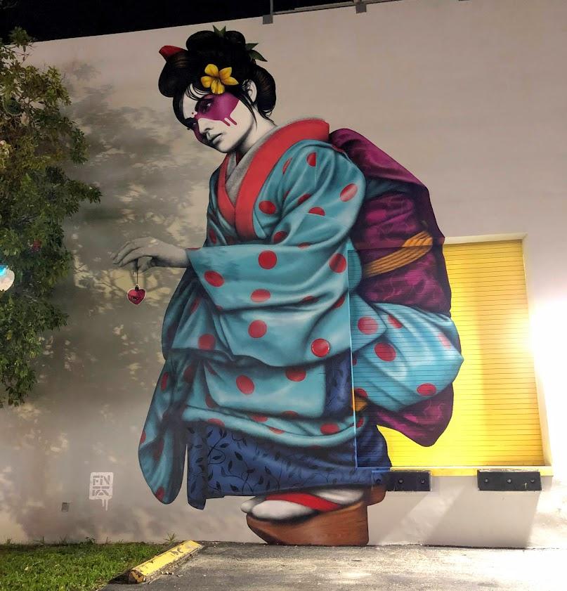 Kimono Mural Wynwood