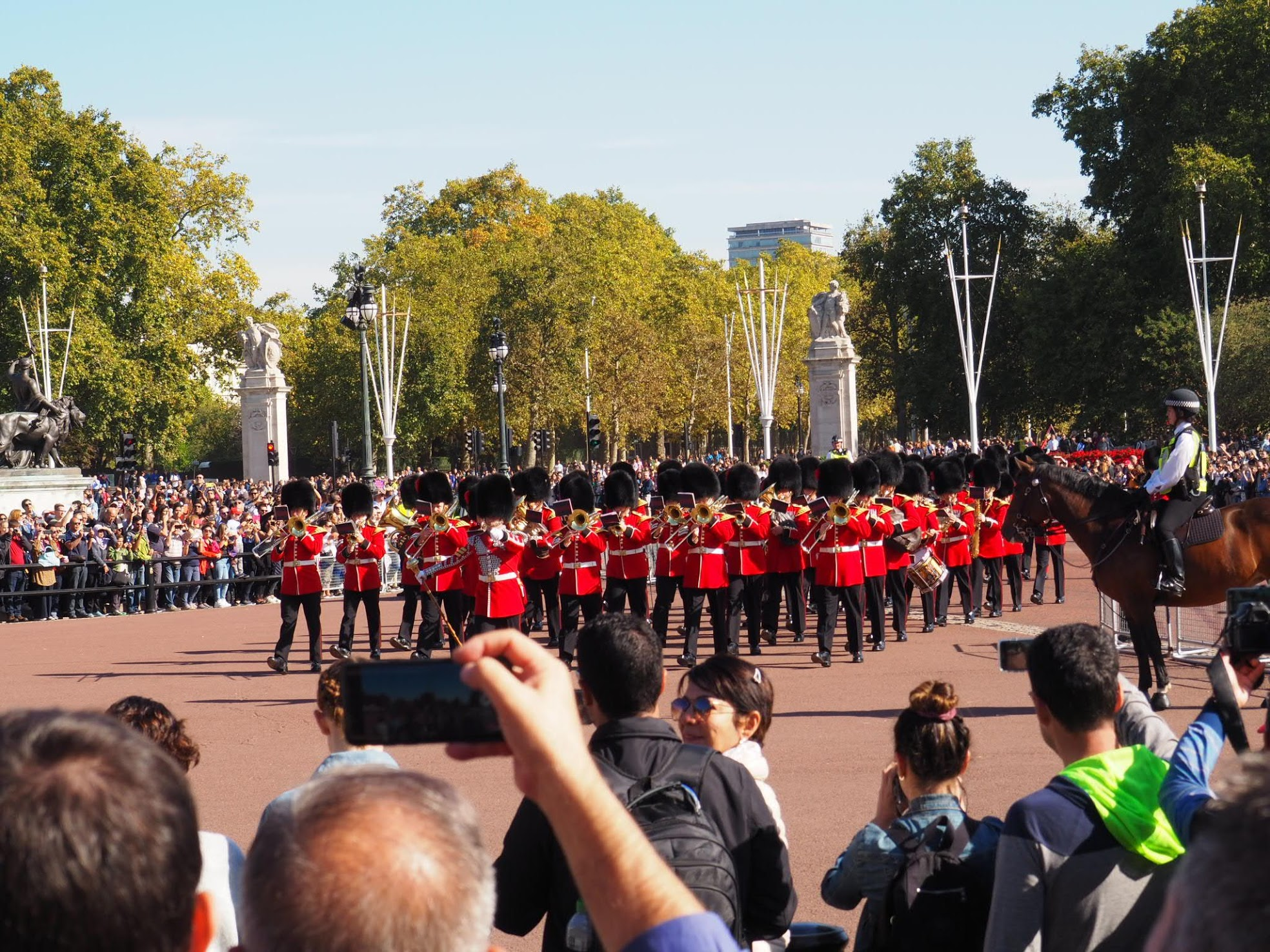 Buckingham Palace Guard Entering