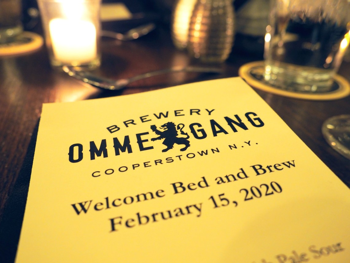 Ommegang Bed and Brew