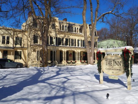 The Inn at Cooperstown in Winter