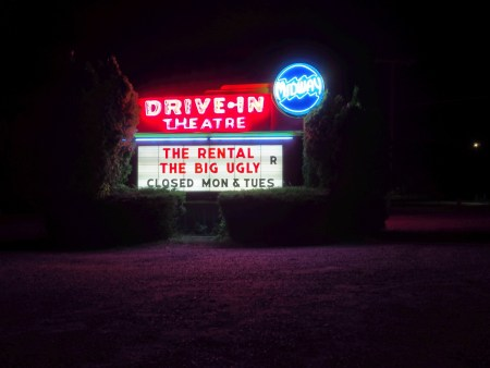 Midway Drive-In Movie Theater in Syracuse