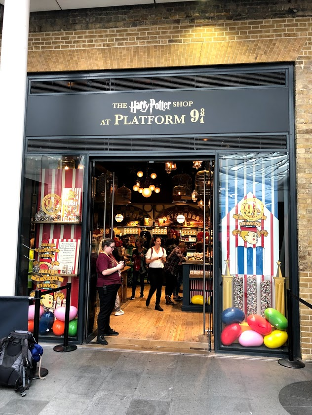 Harry Potter Store in Kings Cross