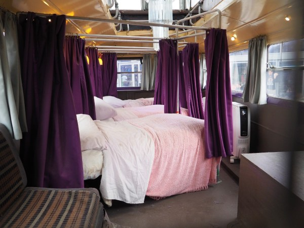 Harry Potter Studio Tour - Knight Bus Inside