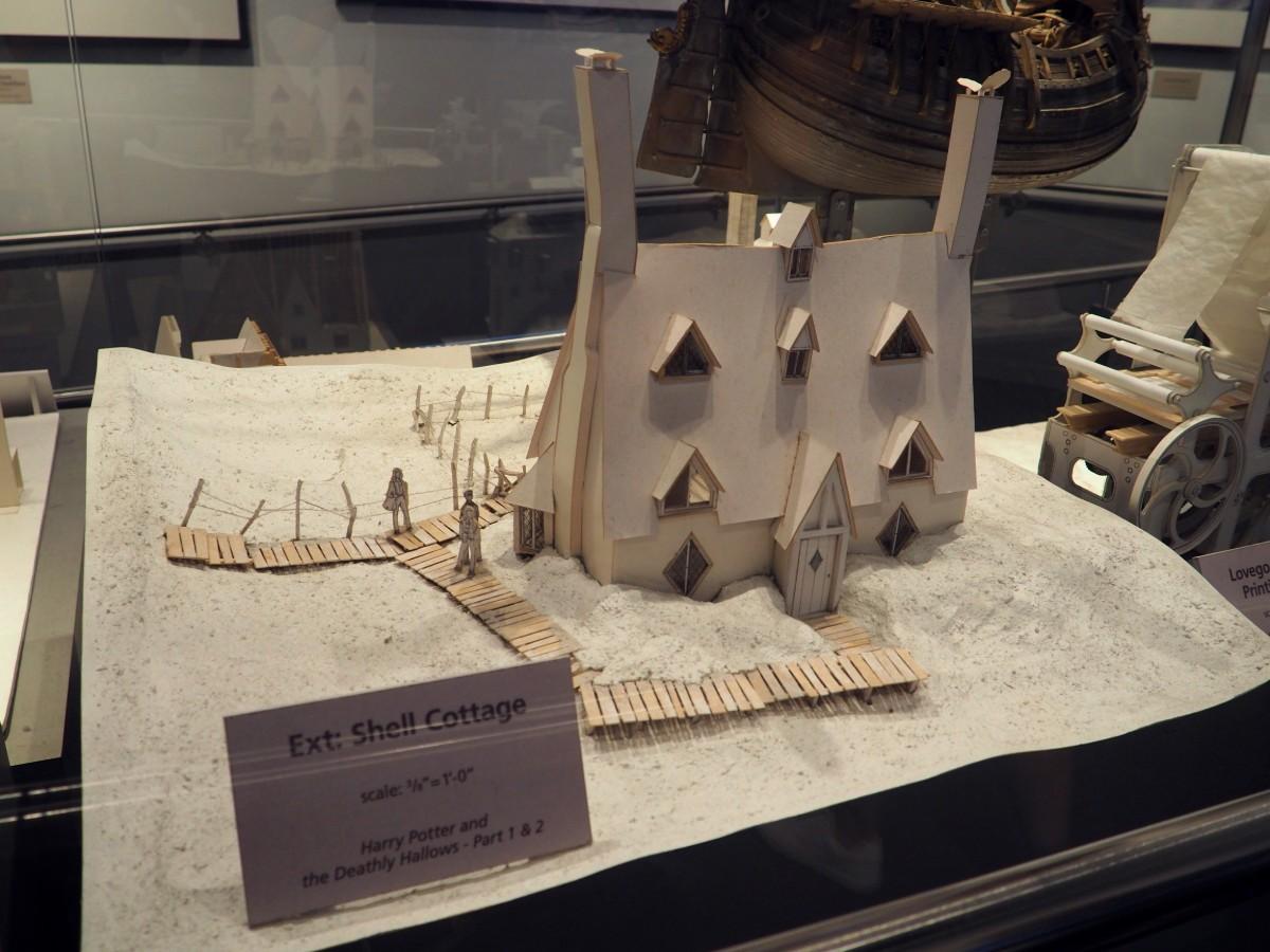 Harry Potter Studio Tour - Shell Cottage