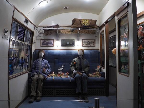 Harry Potter Studio Tour - Train Car