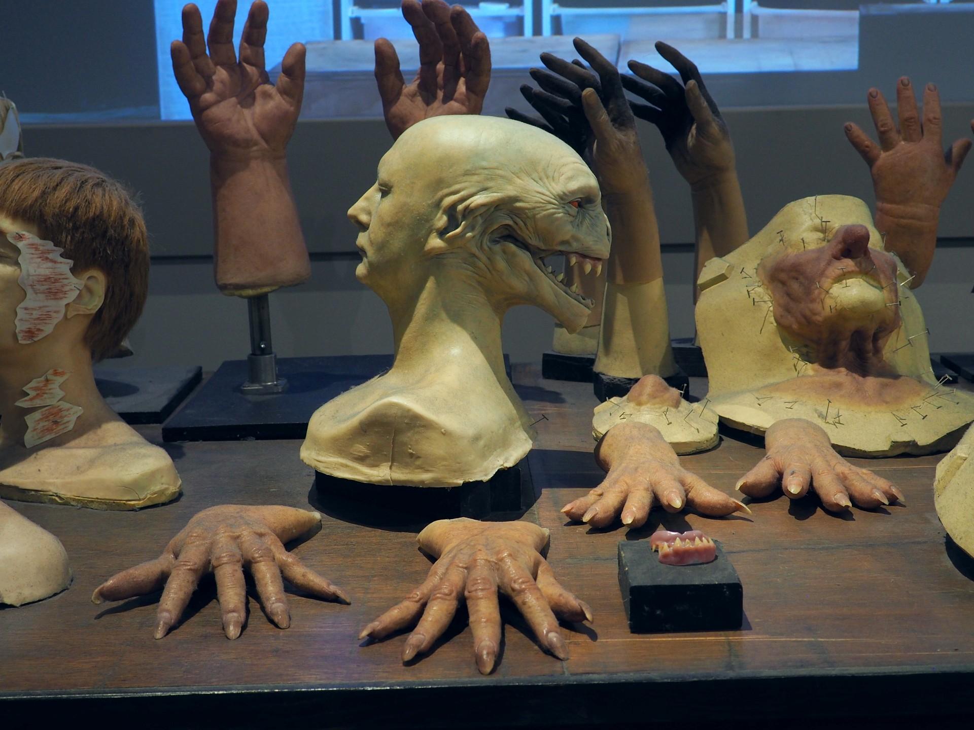 Harry Potter Studio Tour - Voldemort Quirrell Mask