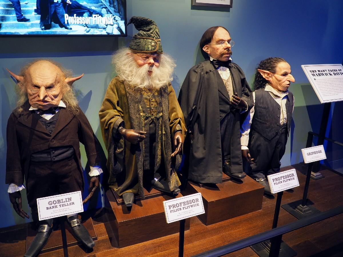 Harry Potter Studio Tour - Warwick Davis
