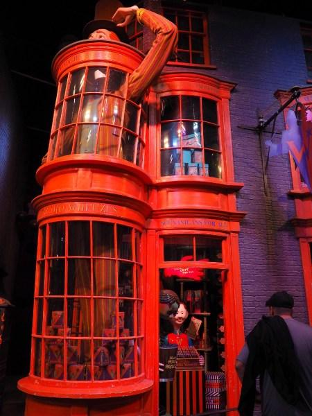 Harry Potter Studio Tour - Weasley Shop