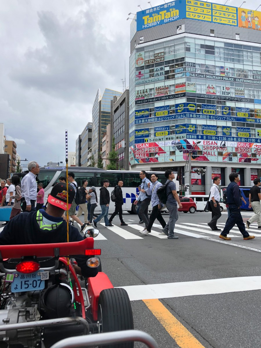 Go Karting in Tokyo