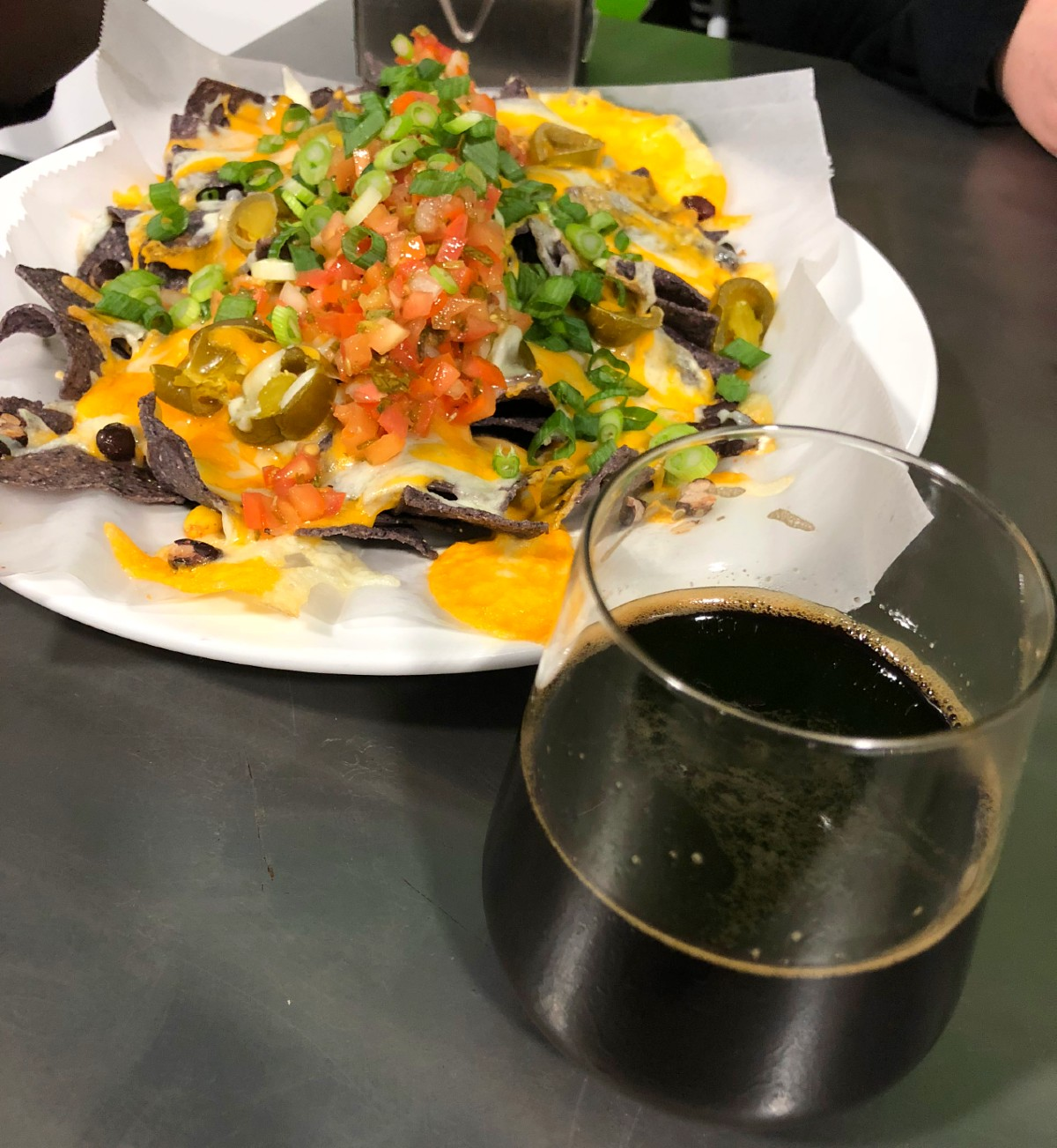 Nachos at Burlington Beer Company
