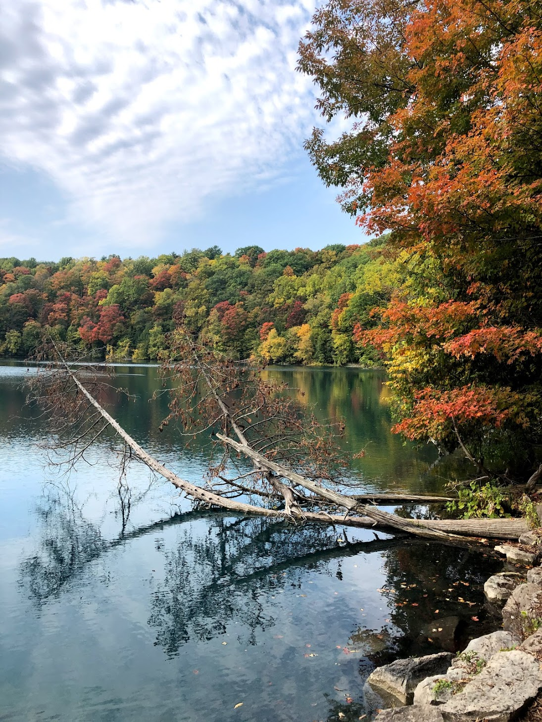 Green Lakes in Autumn