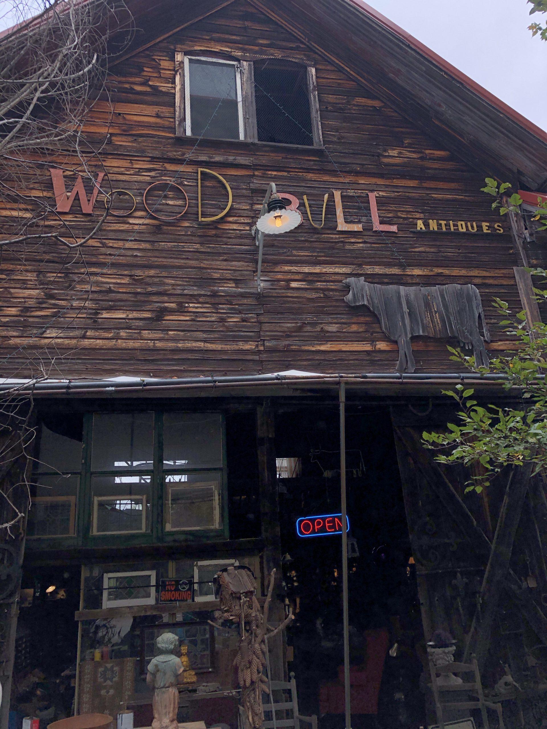Wood Bull Antiques