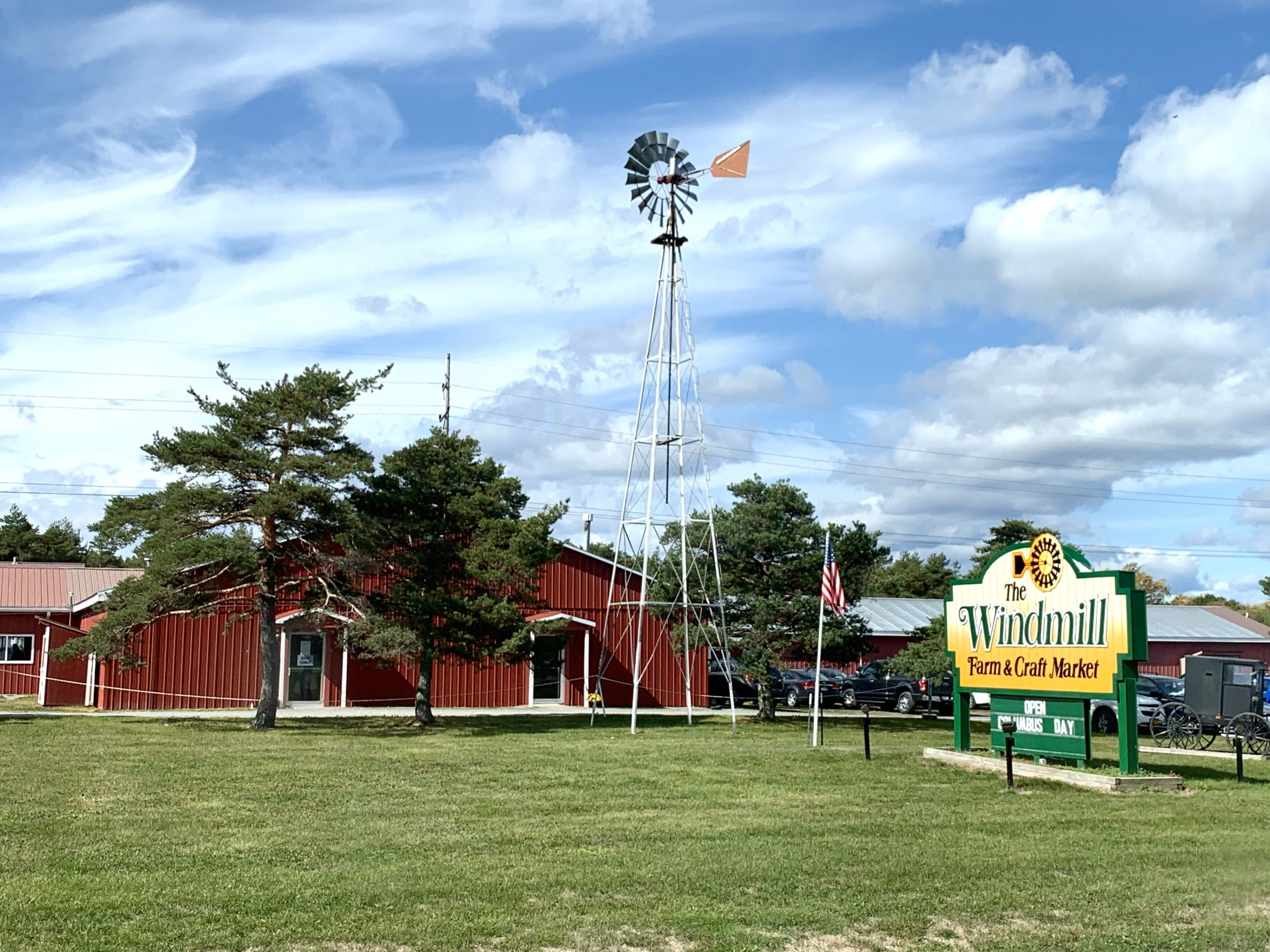 The Windmill Market in Yates County