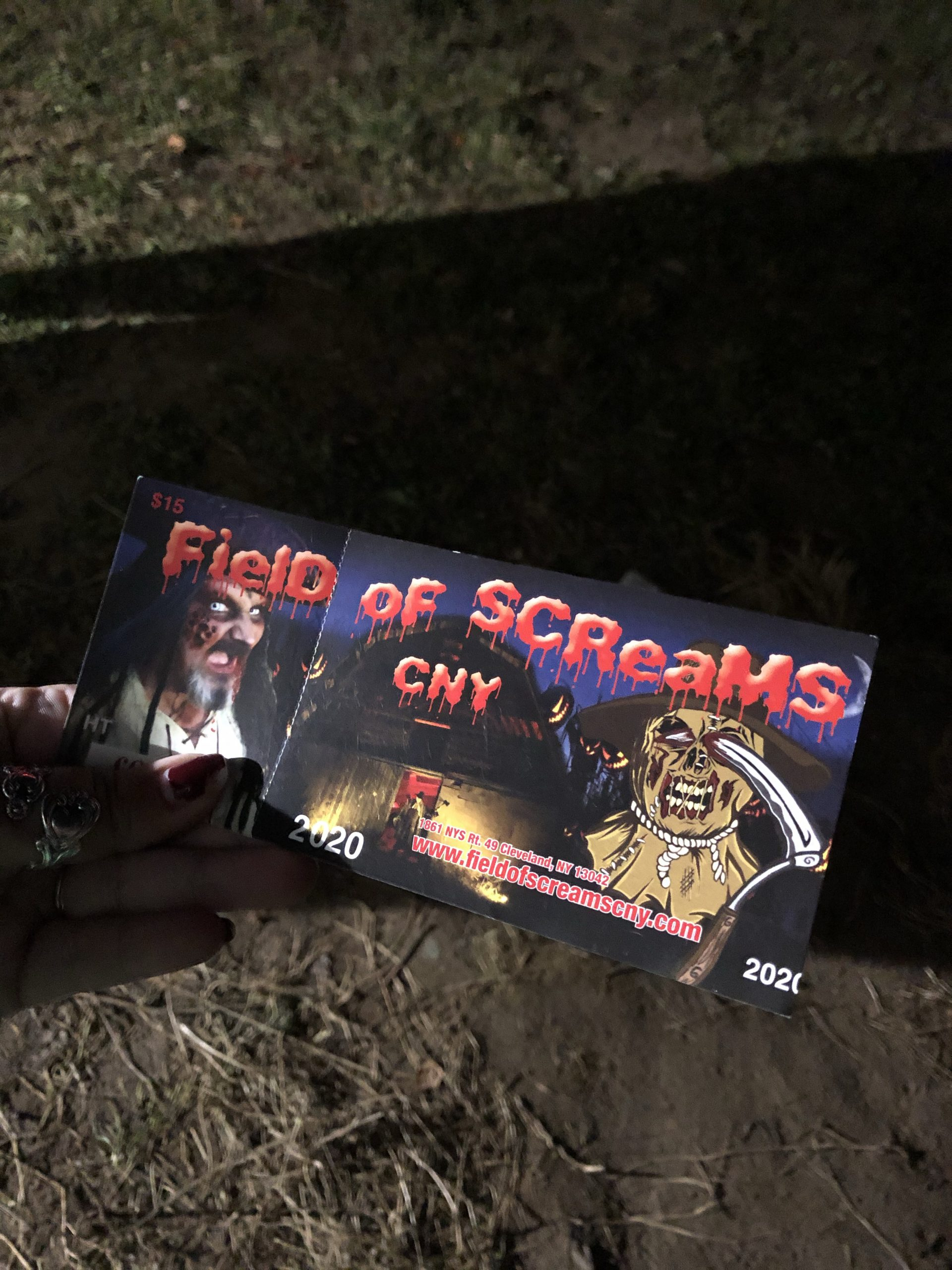 Field of Screams Tickets