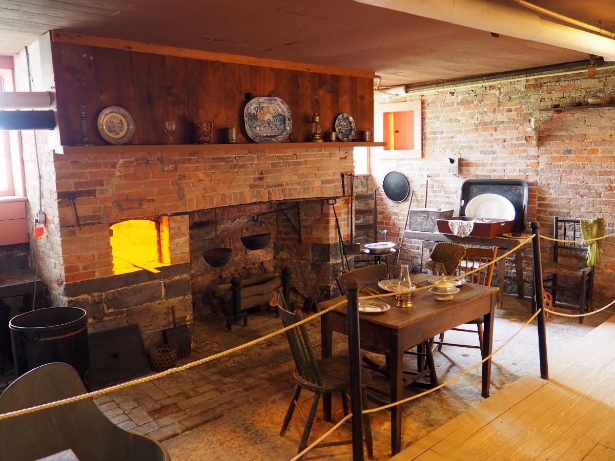 Seward House Basement Kitchen