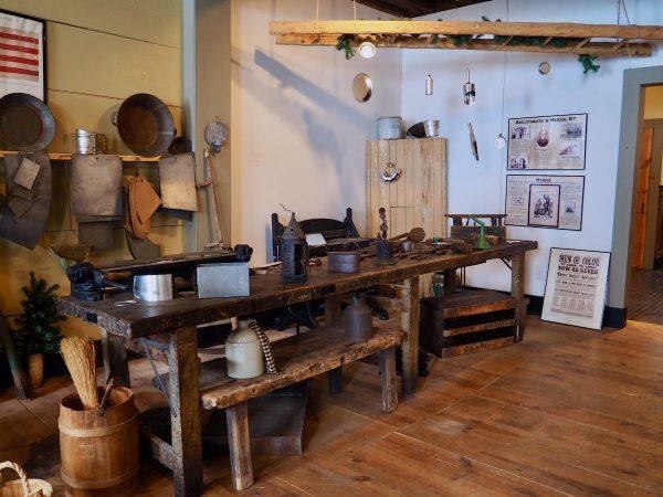 Starr Clark Tin Shop in Mexico
