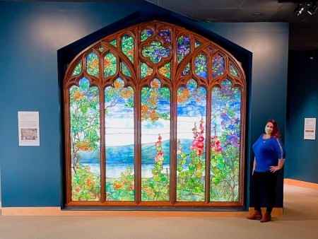 Dani at Corning Museum of Glass