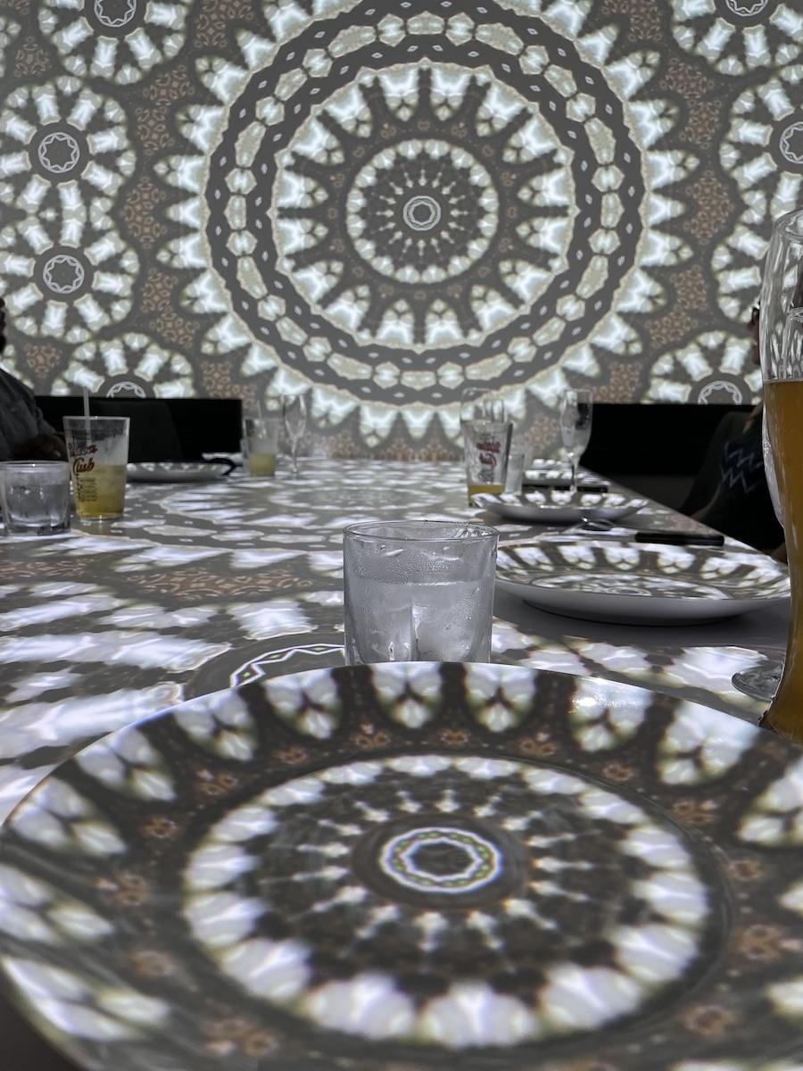 Virtual Dinner Mandalas