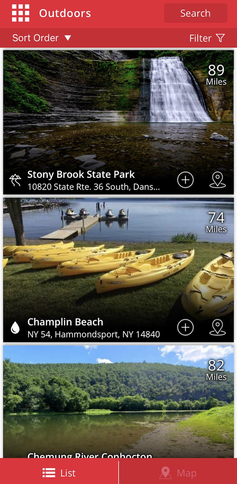 Craft Your Adventure App - Activities
