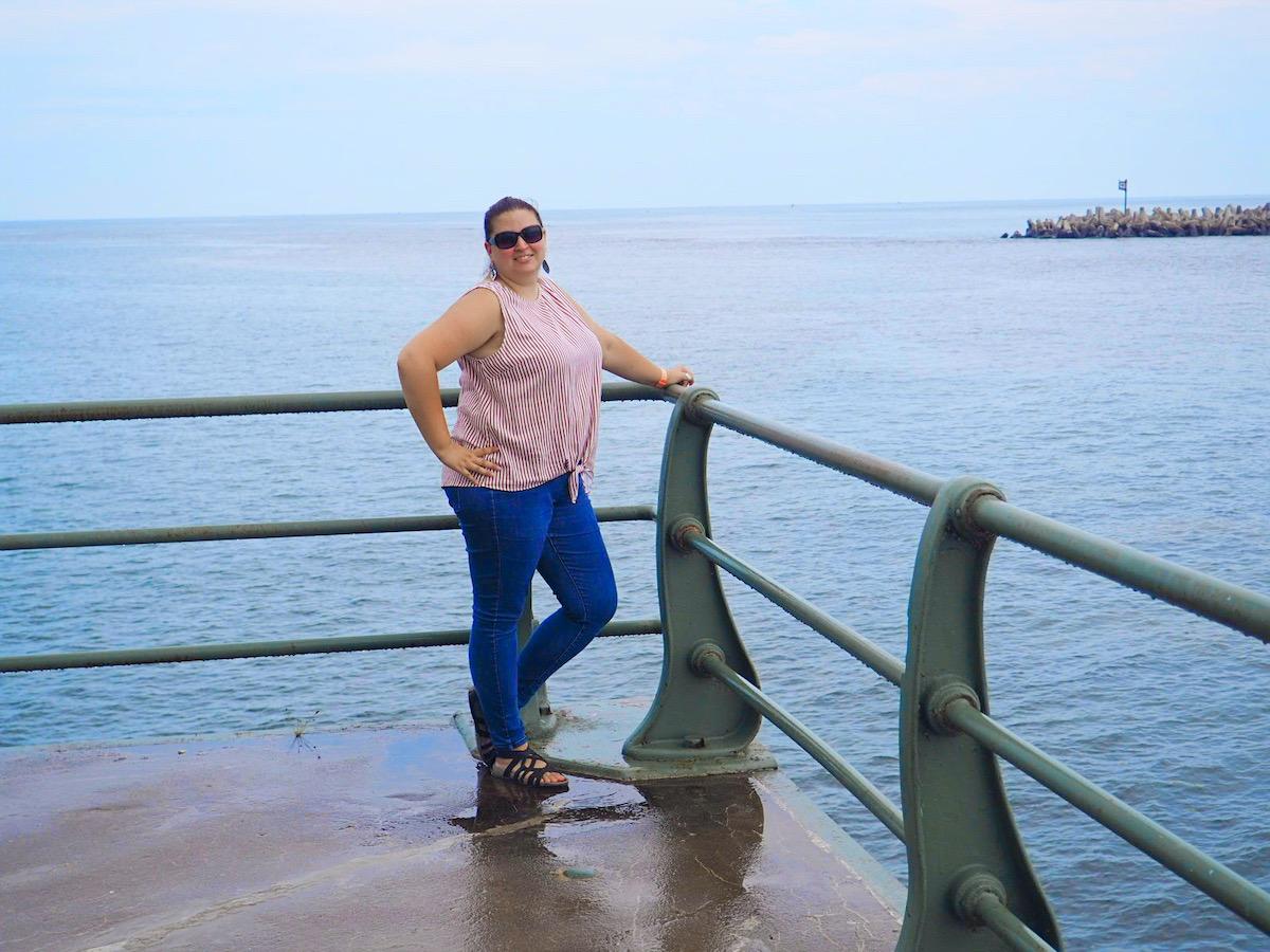 Dani at Oswego Lighthouse