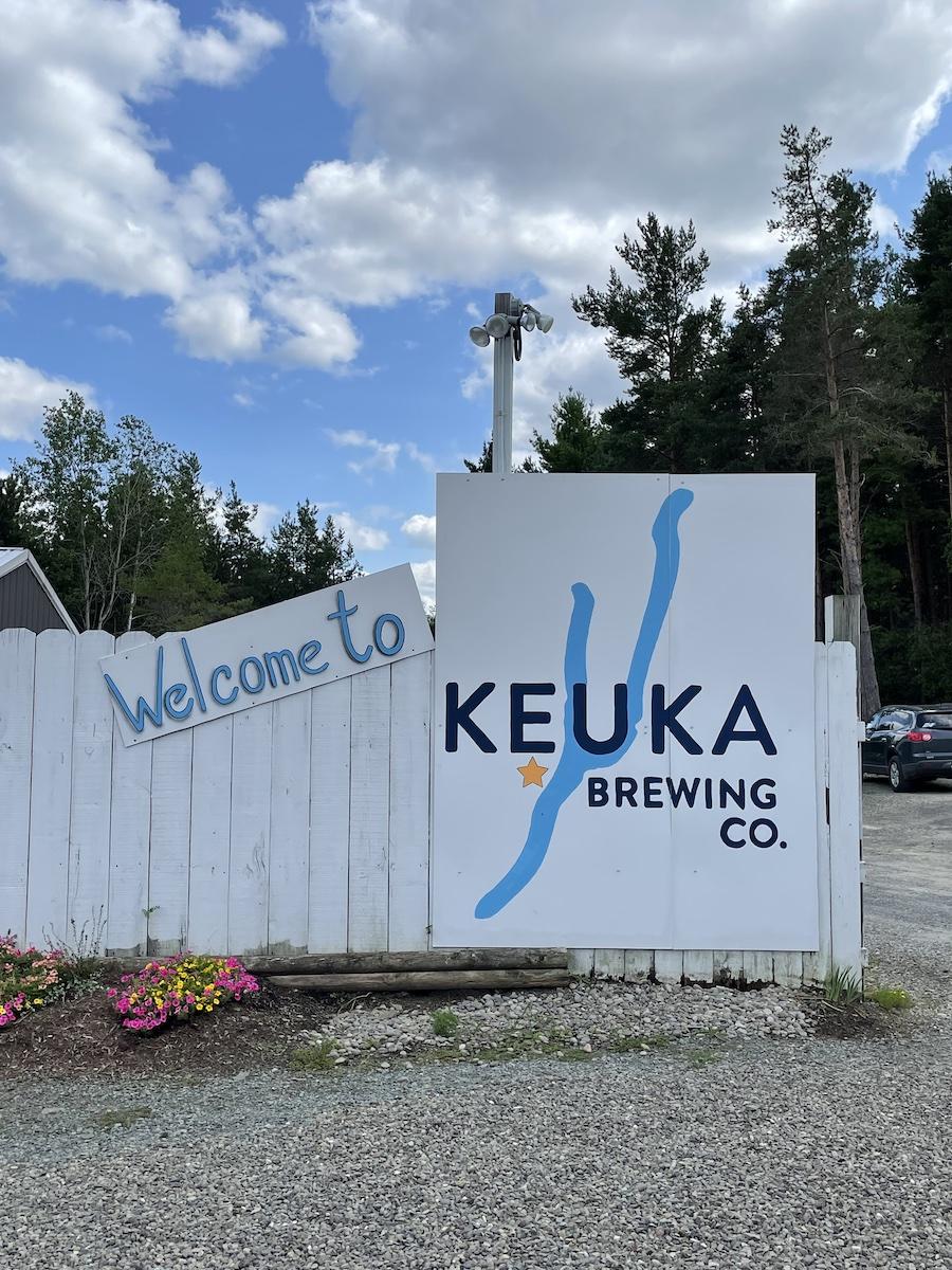 Keuka Brewing Entrance