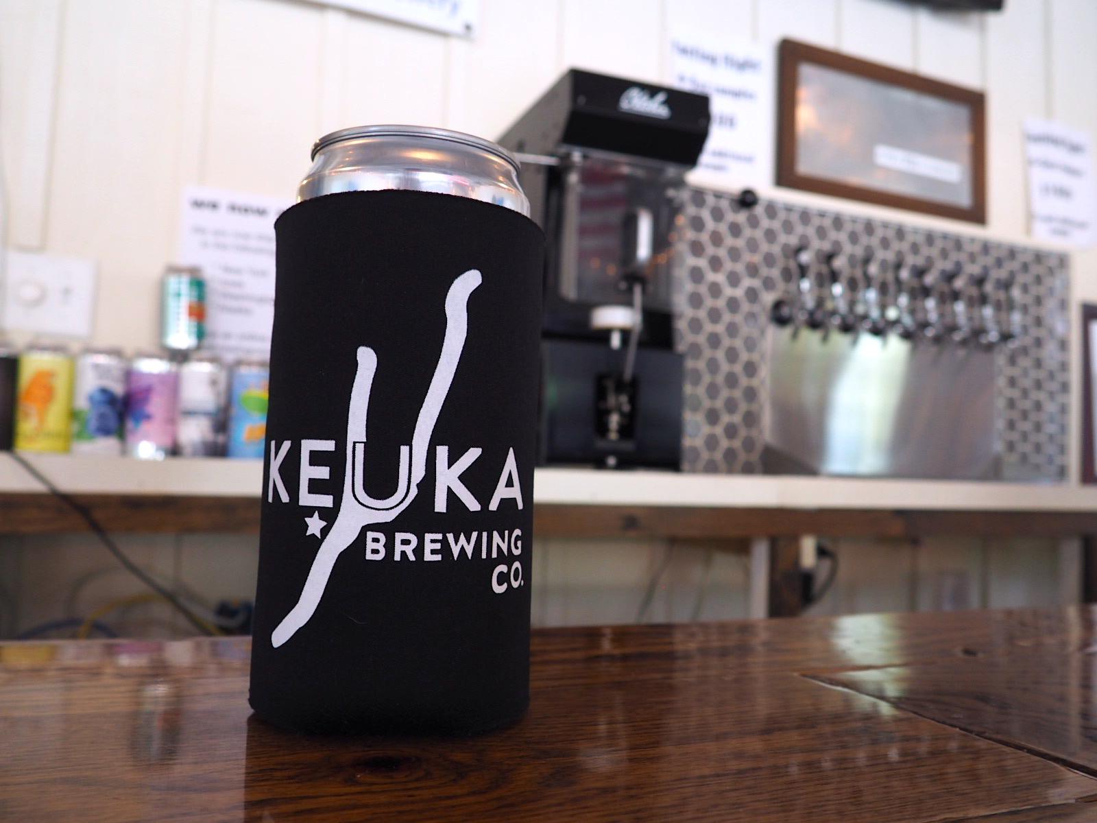 Keuka Brewing Crowler