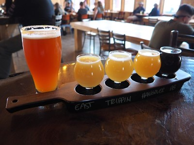 Heritage Hill Beer Flight