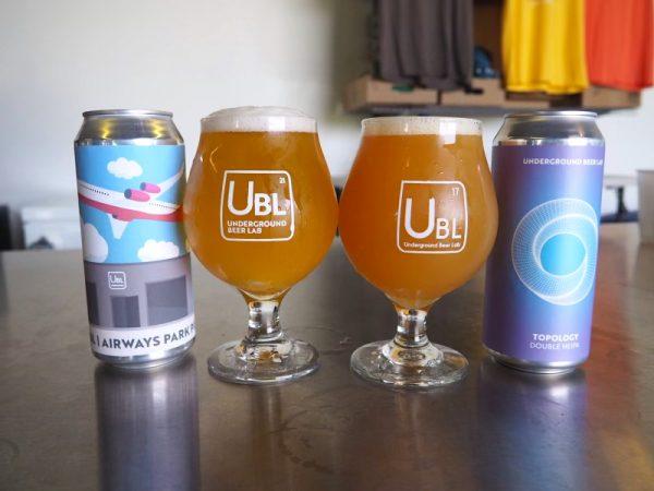 Underground Beer Lab Beers