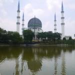 ブルーモスクこと「スルタン・サラフディン・アブドゥル・アジズ・シャー・モスク」