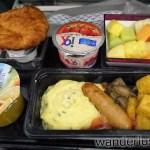 【機内食】カタール航空 ドーハ→モスクワ・ドモジェドヴォ(2015年9月)