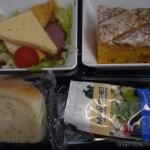 【機内食】アエロフロート モスクワ(シェレメチェボ)→ドイツ・ベルリン(シェーネフェルト)2012年12月