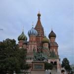 秋のモスクワ一人旅2~グム百貨店でブリヌイとアイス&ワシリー寺院へ