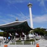 週末釜山2017夏(2)釜山タワーと龍頭山公園 Busan Tower,Yongdusan Park