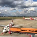 【2017ドイツ旅8】ベルリン・テーゲル空港の展望デッキ