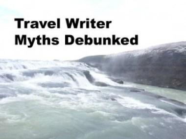 travel writer myths