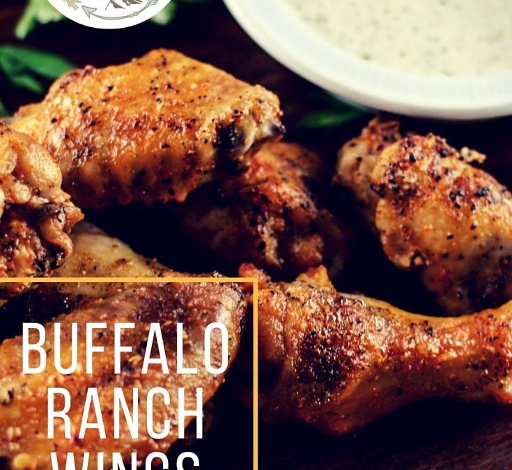 Buffalo Ranch Chicken Wings