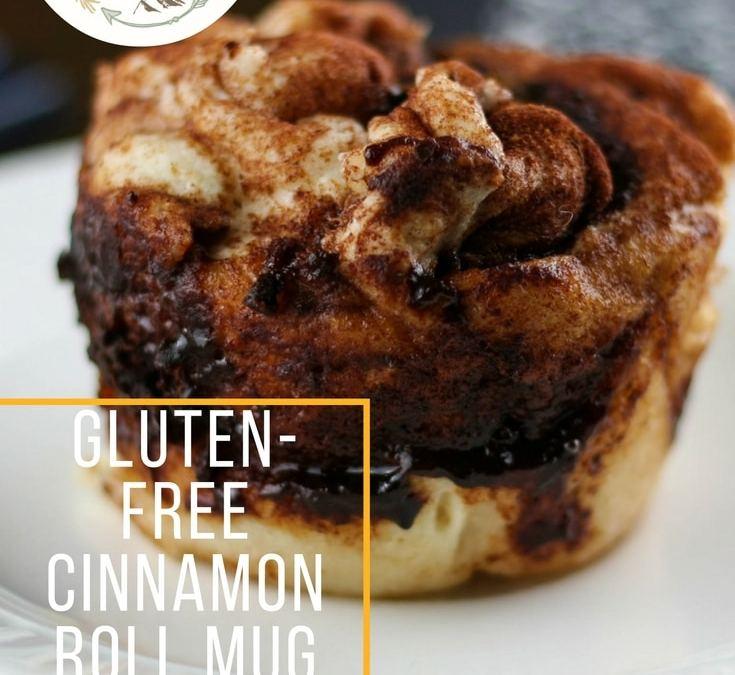 Gluten-Free Cinnamon Roll Mug Cake