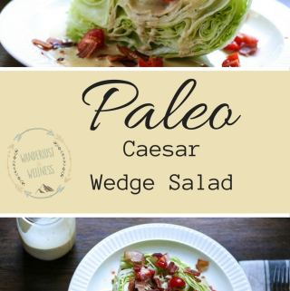 paleo caesar wedge salad