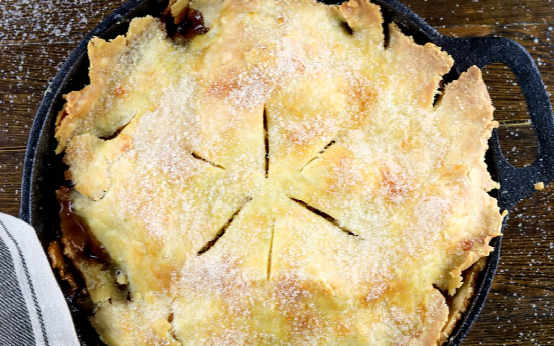 Gluten-free Cast Iron Apple Pie