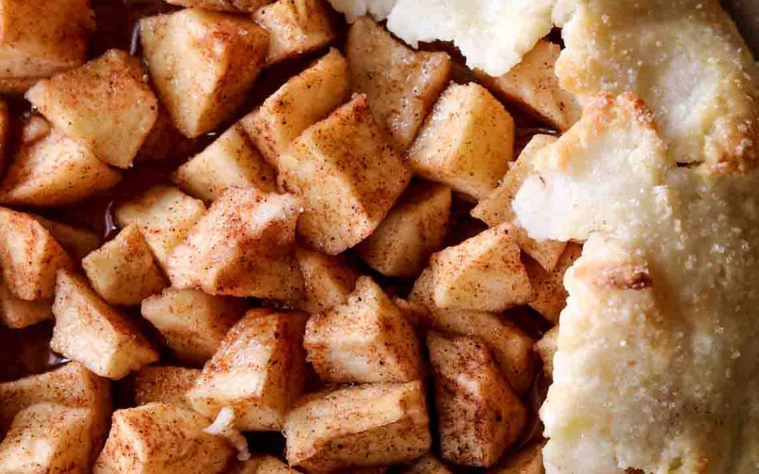 Gluten-free Cinnamon Apple Galette