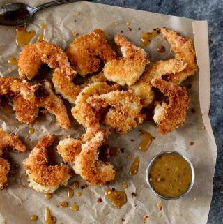 Coconut Shrimp with Spicy Honey Mustard Sauce