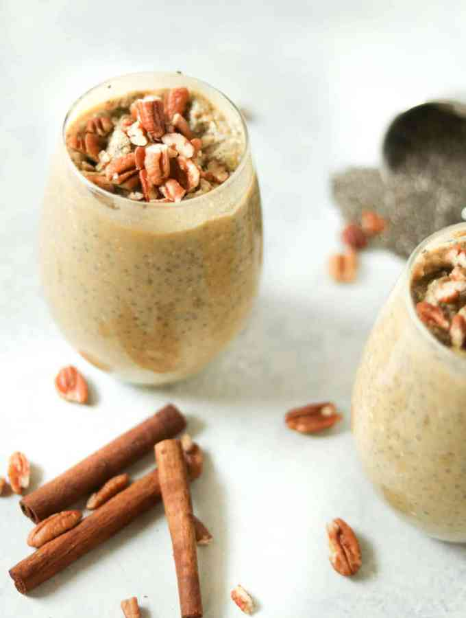 pumpkin spic chia pudding