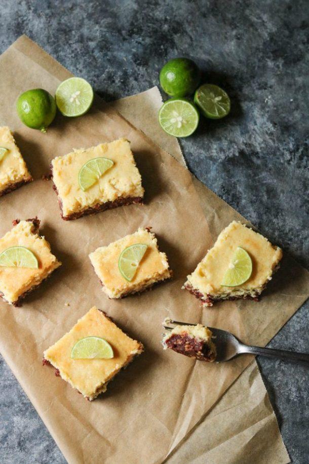 gluten-free key lime bars