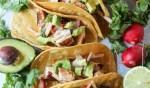 mahi-mahi fish tacos with jicama slaw