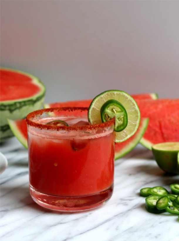 Watermelon Jalapeno Margarita