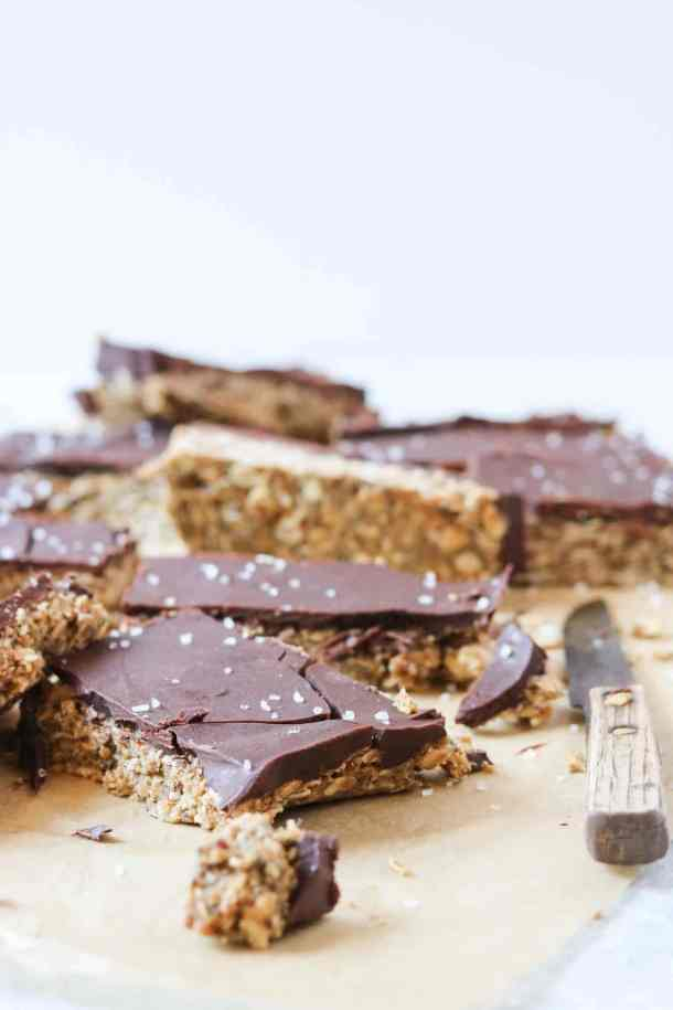 sunbutter chocolate granola bars