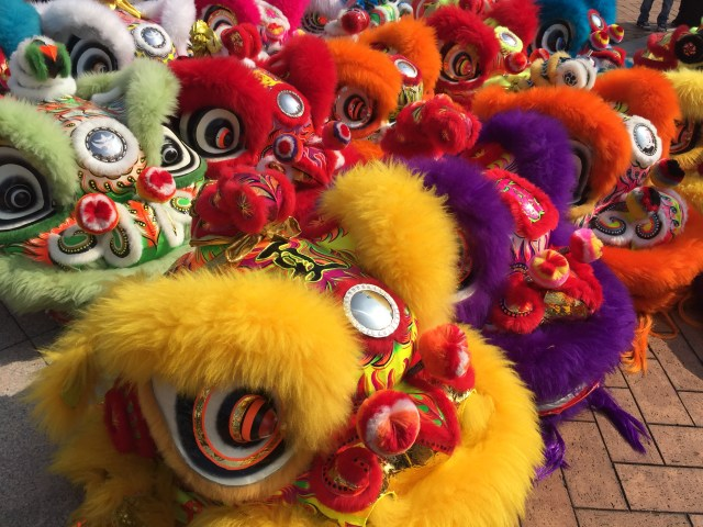 Celebrating the New Year with Lion Dances in Hong Kong
