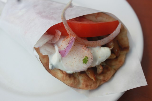 The Ultimate Greek Street Food: the Souvlaki Sandwich